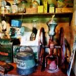 """""""Old-Fashioned Coffee Grinder"""" by susansartgallery"""