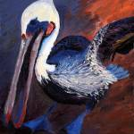 """Pelicans #4"" by susanbailyweaver"
