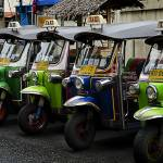 """Colorful Tuk Tuks Bangkok"" by DuaneBigsby"