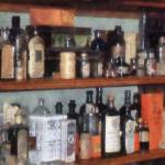 """Bottles in General Store"" by susansartgallery"