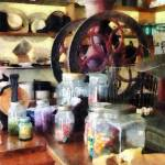 """General Store With Candy Jars"" by susansartgallery"