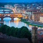 """Arno and Ponte Vecchio"" by Inge-Johnsson"