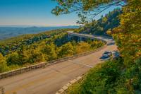 Blue Ridge Parkway Scenic Mountains Overlook