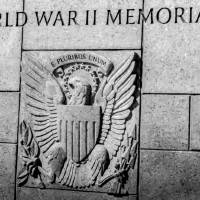United States Seal carved into stone at the World by Alexandr Grichenko