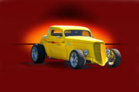 1934 Ford Coupe - Studio 1