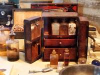 Case With Medicine Bottles