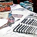 """Doctor - Medical Instruments"" by susansartgallery"
