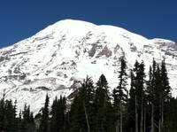 Mount Rainier Glaciers
