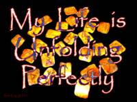 Affirmation: Unfolding Perfectly 1