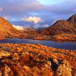 """Tryfan Dawn Panorama"" by CharlieRT"