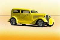 1935 Chevrolet Sedan 'Lemon Zest'