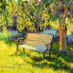 """Under a Willow Tree"" by KimStenbergFineArt"