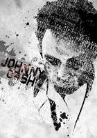 Johnny Cash Typography