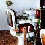 """Barber Chair"" by susansartgallery"