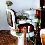 """Barber Chair"" by susansartgallery"