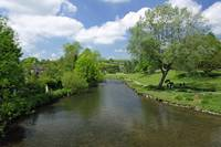 The River Wye from Bakewell Bridge (31365-RDA)