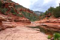 Calm Day at Slide Rock