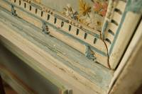 fragment of bedroom decor in Kuskovo