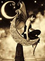Moon Fairy Sepia