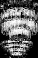 Chandelier in Black & White