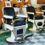 """Barber - Corner Barber Shop"" by susansartgallery"