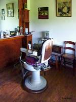 Barber - Old-Fashioned Barber Chair