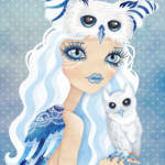 """Owl Duchess"" by sandygrafik_arts"