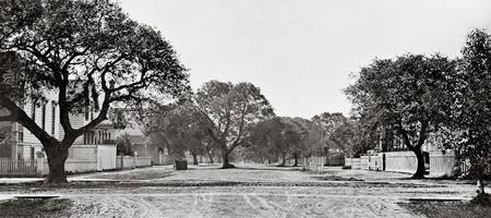 Panorama of Oakland Street c1890
