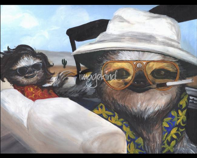 Stunning Quot Fear And Loathing Quot Artwork For Sale On Fine Art