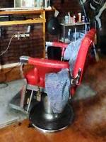 Barber - Red Barber Chair
