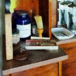 """Barber - Shaving Brush And Box Of Combs"" by susansartgallery"
