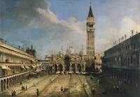 Canaletto - The Piazza San Marco in Venice