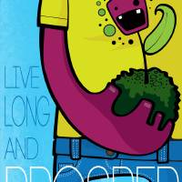 Live Long and Prosper Art Prints & Posters by Bara + Chinitas Colective