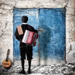 """""""Musician at the door"""" by Nermin"""