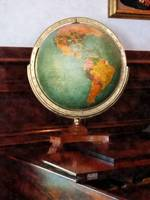 Teacher - Globe on Piano