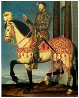 Portrait of Francis I on Horseback (c. 1540)