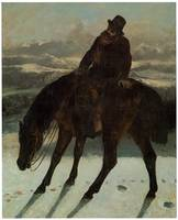 Hunter on Horseback, Recovering the Trail (1864)