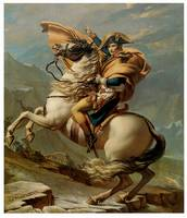 Napoleon Crossing the Alps (c. 1800)