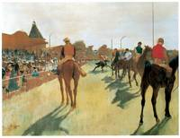 Race Horses Before the Stands (c. 1879)
