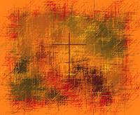Christian Abstract Golden Earth Tones