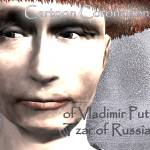 """Cartoon Coronation of Vladimir Putin Tzar of..."" by Kosmopolites"