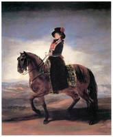 Maria Luisa on Horseback (1799)