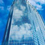 """""""Skyscraper in Clouds"""" by berdandy"""