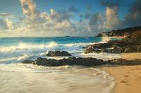 Dawn Beach Caribbean Seascape, St. Martin