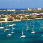 """""""Marigot Harbor, St. Martin"""" by RoupenBaker"""