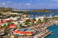 Scenic Overlook of Marigot, St. Martin