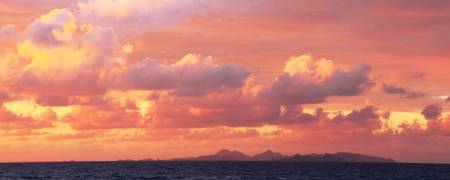 Sunrise Sky over St. Barts