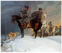 Prussian Cavalry Outpost in the Snow (1821)