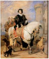 Queen Victoria on Horseback (1838)