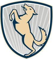 Prancing Dog Side Shield
